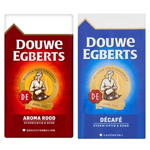 Douwe Egberts snelfilter of pads aroma rood