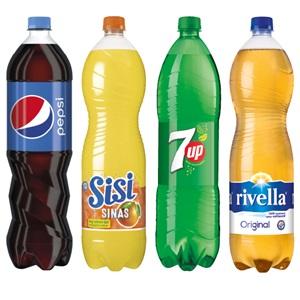 Pepsi, SiSi, 7UP of Rivella