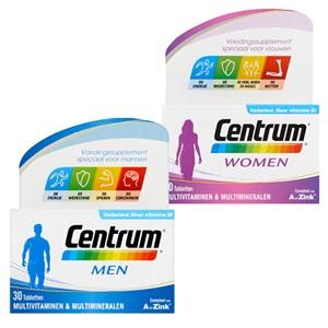Centrum multivitaminen men of woman