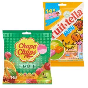 Fruittella, Mentos of Chupa Chups mini's