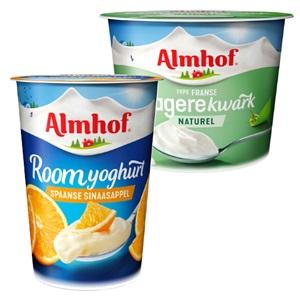 Almhof kwark of lekker en licht yoghurt