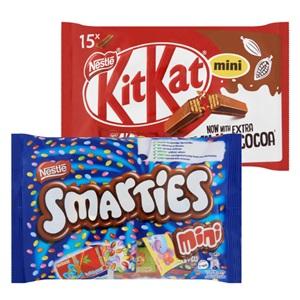 Smarties, Kit Kat, Bros of Nestlé