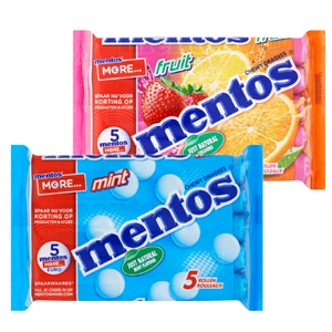 Mentos of Fruitella