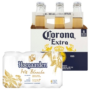 Hoegaarden of Corona