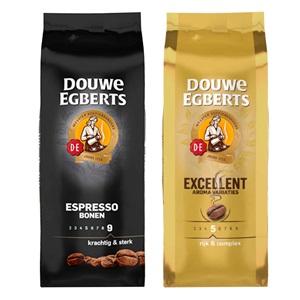 Douwe Egberts snelfilterkoffie, bonen of pads