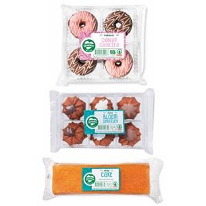 SPAR donut cookies, bloemenspritsen of pondje cake