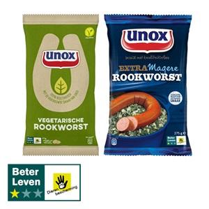 Unox rookworst