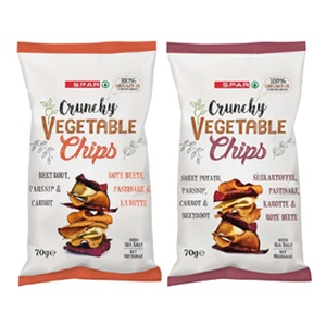 SPAR vegetable chips