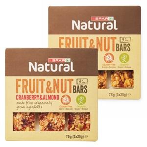 SPAR natural fruit & nut bar
