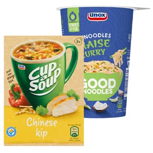 Unox Cup-a-Soup, Good Noodles of Knorr snackpot
