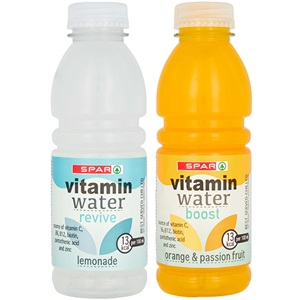 SPAR vitamin water