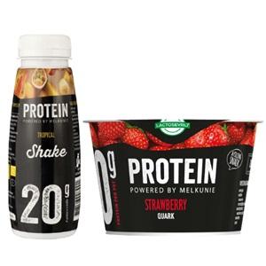 Melkunie protein kwark, yoghurt of shake