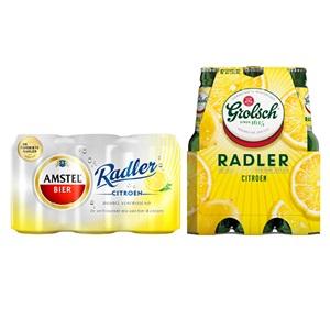 Amstel, Grolsch of Bavaria Radler