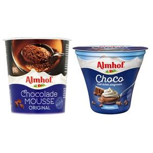 Almhof choco met échte slagroom of chocolademousse
