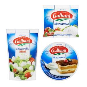 Galbani mozzarella, mascarpone, gorgonzola of ricotta