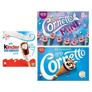 Ola Cornetto of Kinder ijs