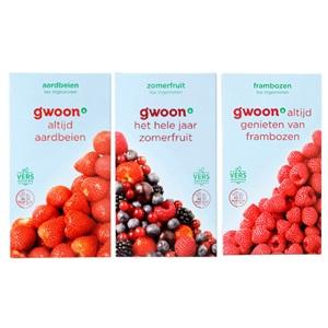 g'woon diepvriesfruit of smoothiemix