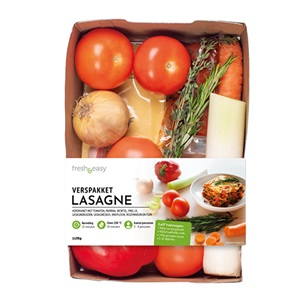 lasagne maaltijdpakket