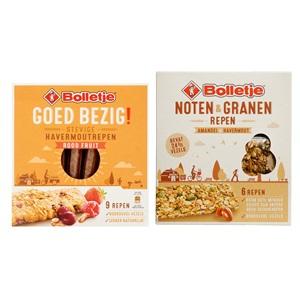 Bolletje graanrepen Goed Bezig of noten & granenrepen