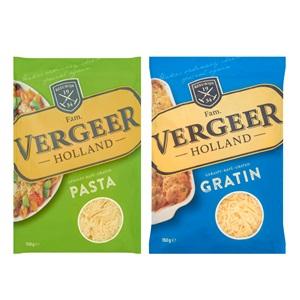 Vergeer pasta of gratin kaas