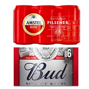 Amstel of Bud pils
