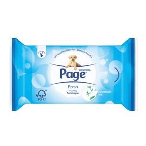 Page vochtig toiletpapier navul, original 8-rol of kussenzacht 6-rol