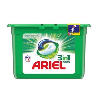 Ariel of Lenor wascapsules