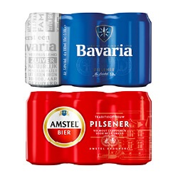 Amstel, Bud of Bavaria pils