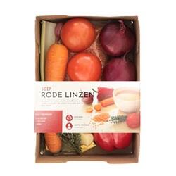 rode linzensoep pakket