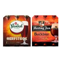 Grolsch, Brand, Hertog Jan of SPAR Herfstbock