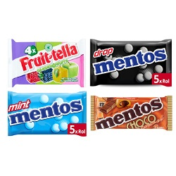 Mentos of Fruittella