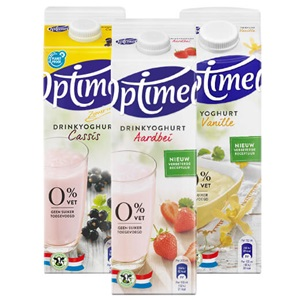 Optimel yoghurt of drinkyoghurt