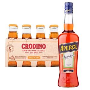 Aperol Aperitivo of Crodino non alcolico