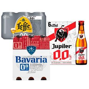 Bavaria, Hertog Jan, Jupiler of Leffe 0.0
