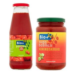 Bio+ tomatensaus of passata