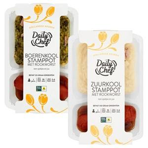 Daily Chef stamppot maaltijden