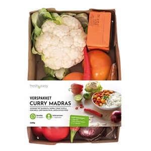 verspakket Indiase curry madras of Mexicaanse wraps