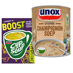 Unox soep in blik, Cup-a-soup, Good Noodles of Snackpot