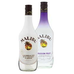 Malibu original of passion fruit