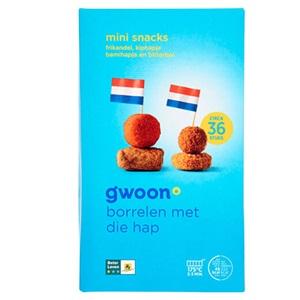 g'woon mini snacks