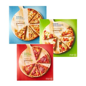 g'woon diepvries pizza's