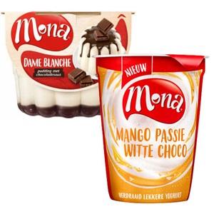 Mona pudding of verdraaid lekkere yoghurt