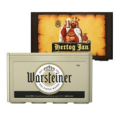 Warsteiner of Hertog Jan pils