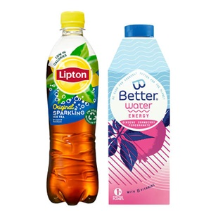 Lipton Ice Tea of B-Better water