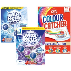 Witte Reus toiletblokken of K2R colour Catcher