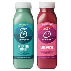 Innocent smoothie energise, anti-oxi, recharge of into the blue