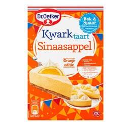 Dr. Oetker kwarktaart sinaasappel of Koopmans paddenstoelcakejes