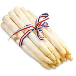 witte Hollandse asperges