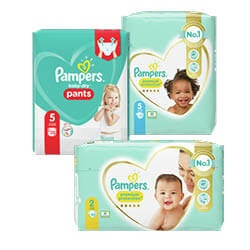 Pampers pants baby dry of premium protect