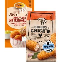 Mora mini's of crispy chicken